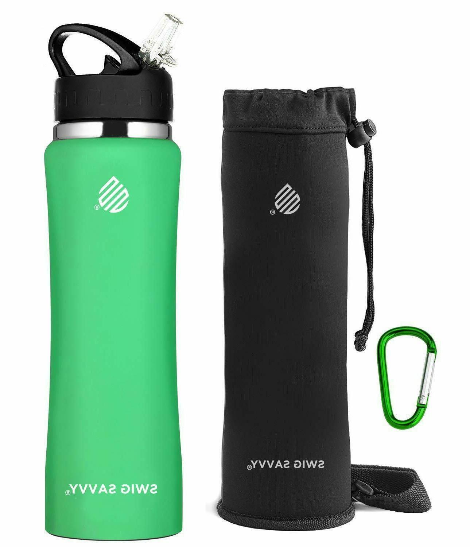 SWIG Water with Straw BPA-Free Insulat