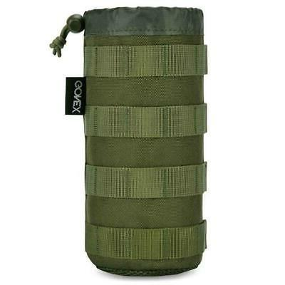 Tactical Bottle Pouch with Accessory