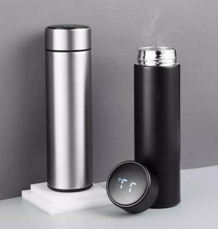 Team Smart Vacuum Water Bottle Temperature Display