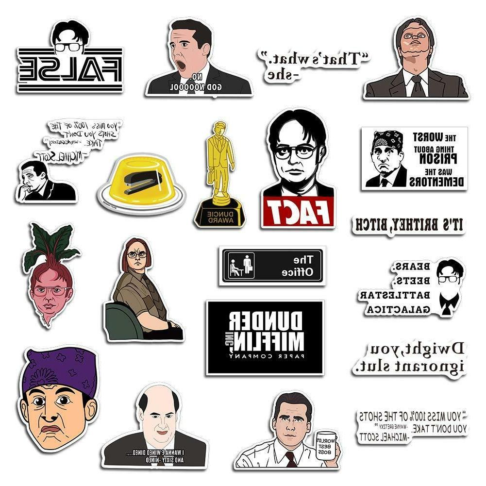 The Office Stickers Funny Quote Vinyl Sticker