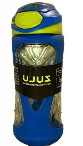 Zulu Torque Kids Water Bottle with Flip Straw, 12oz.
