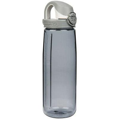 Nalgene Tritan On The Fly Water Bottle, Smoke, 24Oz