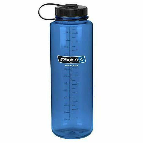 Nalgene Tritan Wide Mouth BPA-Free Water Bottle, Pink, 32 oz