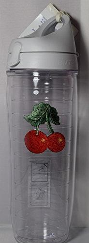 Tervis Tumbler Cherry Fruit Water Bottle with Lid