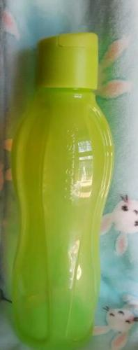 Tupperware Large Eco Water Bottle 32oz Neon Green New