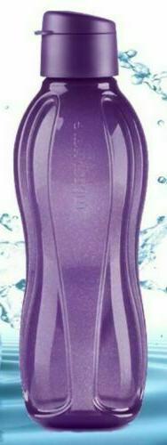 Tupperware Large Eco Water Bottle - Grape Fizz - Sparkle Col