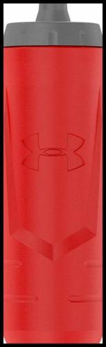 Under Armour Sideline 32 OZ Squeezable Bottle RED