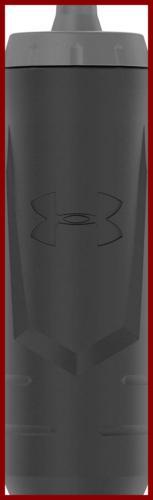 Under Armour Sideline 32 OZ Squeezable Bottle Black