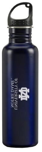 University of Notre Dame - 24-ounce Sport Water Bottle - Blu