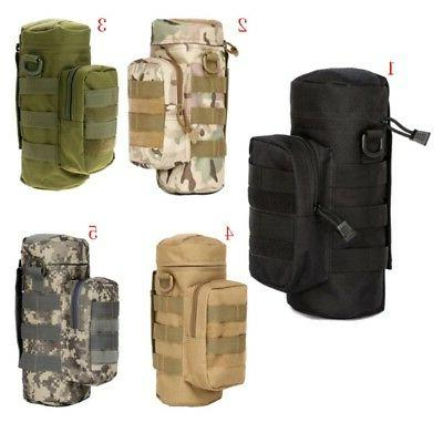Outdoor Molle Water Bottle Holder Hydration Kettle Pouch Dur