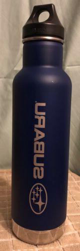 Klean Kanteen Vacuum Insulated 20 oz Subaru Water Bottle Sta