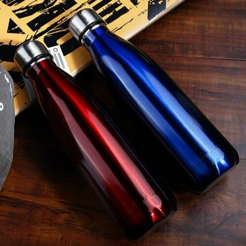500ML Cola Style Vacuum Insulated Stainless Steel Water Bott
