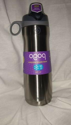 Pogo Vacuum Stainless Steel Water Bottle with Chug Lid 26 Oz