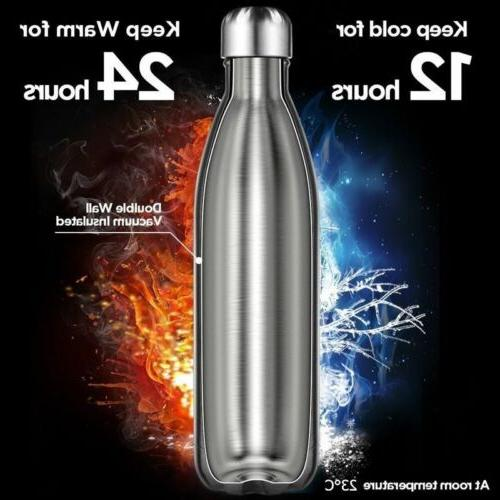 Vacuum Water Stainless Steel Thermal Drinks Hot/