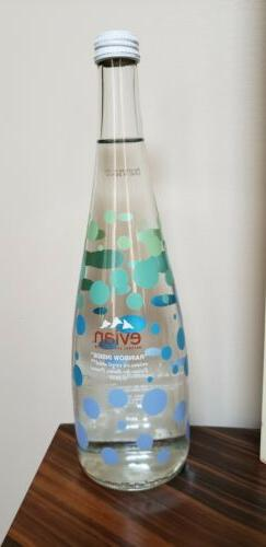 Evian  Virgil Abloh limited edition water in reusable collec