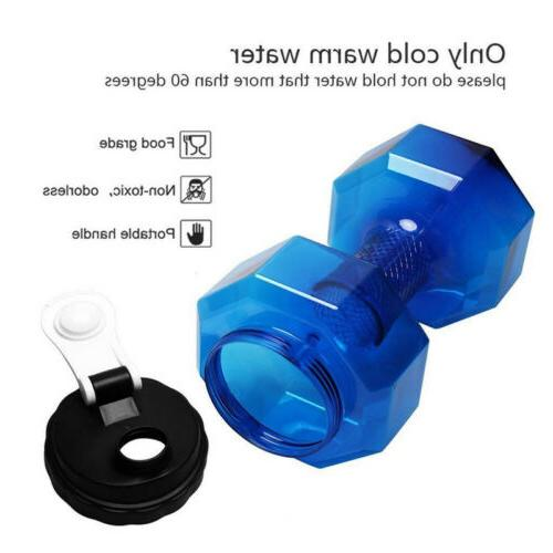 Water Bottle Shaped Sport Drink Exercise Gym Shake Weight