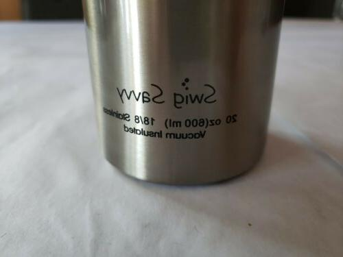 Swig Savvy 20oz Stainless Steel New Open case