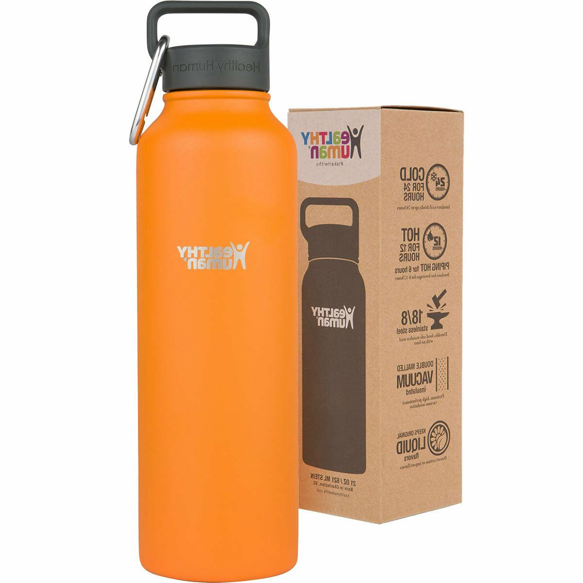 Healthy Human - 24 12 Walled Flask with - 32 oz Sherbet