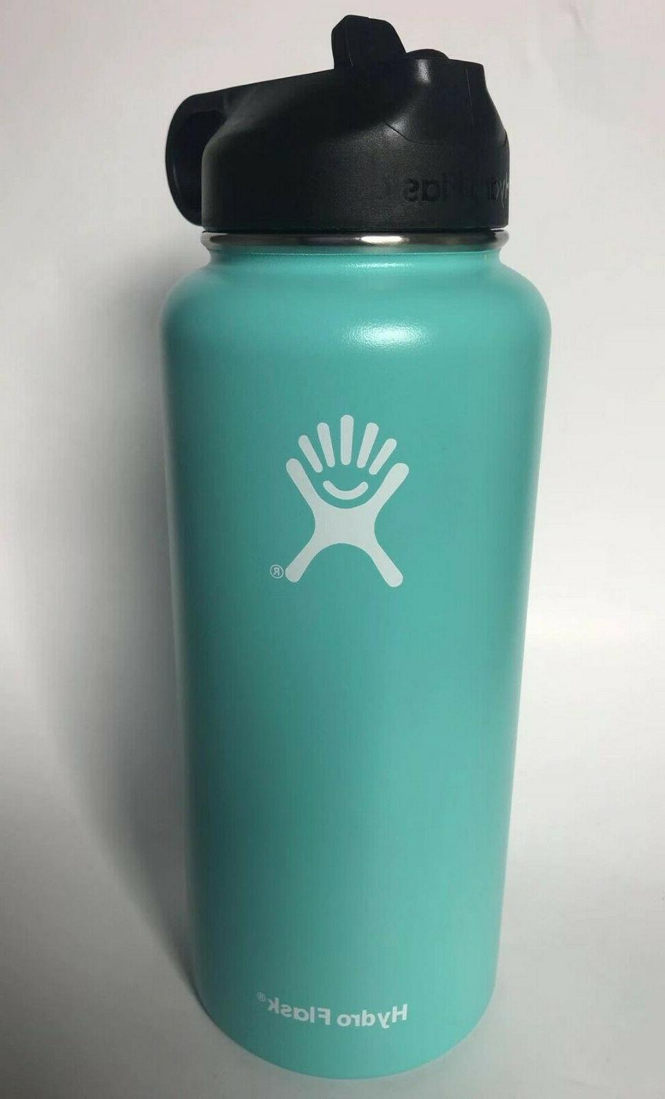 Hydro Flask Water Stainless Insulated with Straw Lid