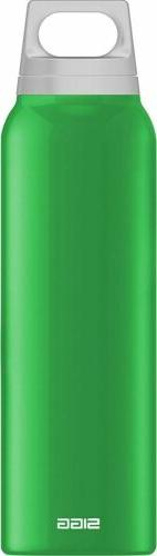Sigg Water Bottle, Thermo, Hot & Cold, Classic Green w/ Tea