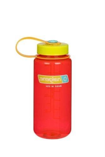 Nalgene Wide Mouth 32oz Loop Top Water Bottle Pomegranate w/