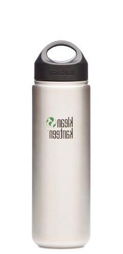 Klean Kanteen 12 oz Wide Water Bottle With Stainless Loop Ca