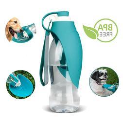 Large Dog Water Bottle Portable Pet Dispenser Drinking Conta