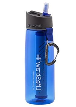 LifeStraw Go Water Filter Bottle with 2-Stage Integrated Fil