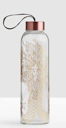 Limited Edition 2017 Starbucks Anniversary Gold Siren Glass