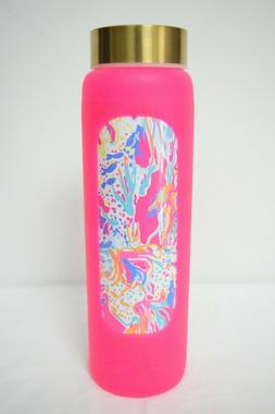 Lilly Pulitzer Limited Edition Glass Water Bottle In Sunken