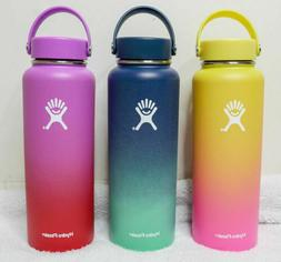 Hydro Flask LIMITED EDITION Ombre Wide Mouth Bottle with Fle