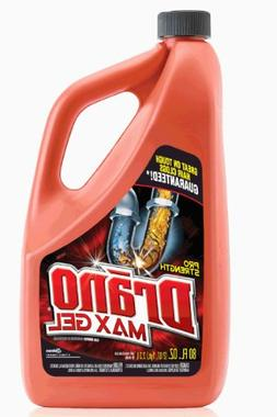 Drano Max Gel, Clog Remover, 80-Ounce