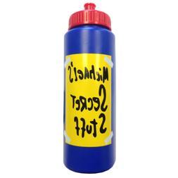 Michael's Secret Stuff Water Bottle Space Jam Michael Jordan
