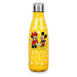 Mickey and Minnie Mouse Stainless Steel Water Bottle in Yell