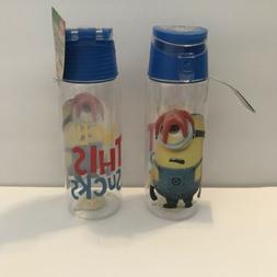 minions flip top bottle Tritan Zak BPA Free  free shipping 2
