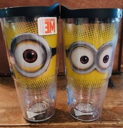 Tervis Minions Tumbler 24oz Tumbler Water Bottle With Lid BR