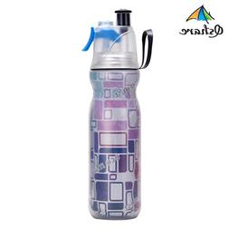 Qshare Misting Water Bottle, Insulated Bottle with Spray Mis