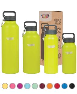 Healthy Human 16 oz Mojito Insulated Stainless Steel Water B