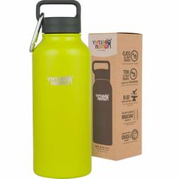 Healthy Human 32 oz Mojito Insulated Stainless Steel Water B