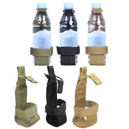 Molle Water Bottle Holder Belt Carrier Pouch Tactical Hiking