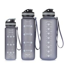 Motivational Fitness Sports Water Bottle with Time Marker 50