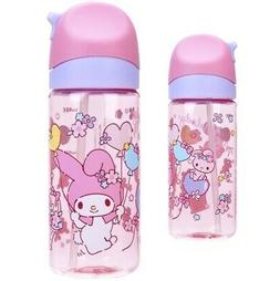 My Melody BPA+BPS Free Straw Water Bottle Kids Baby Flip-top