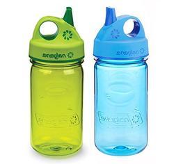 Nalgene Grip-N-Gulp Kids / Children's 12oz Water Bottles - M