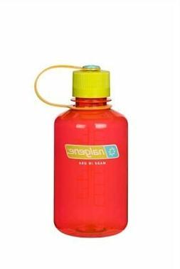 Nalgene Narrow Mouth 16oz Loop Top Water Bottle Pomegranate