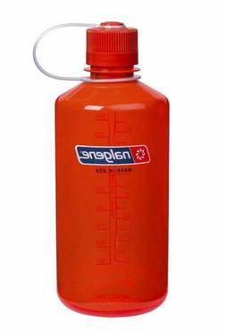 Nalgene Narrow Mouth 32oz Loop Top Water Bottle Safety Orang