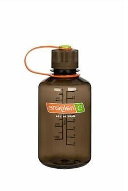 Nalgene Narrow Mouth 16oz Loop Top Water Bottle Woodsman w/B