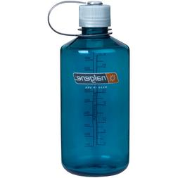 Nalgene Tritan 1-Quart Narrow Mouth BPA-Free Water Bottle, T