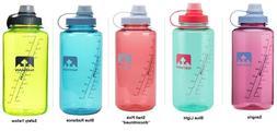 Nathan® Big Shot 32oz. 1L Water Bottle, Leak Proof, High Fl