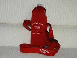 Neoprene Water Bottle Holder/Carriers with Karakido Martial