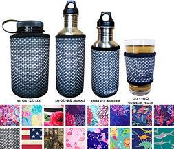 Koverz Neoprene 24-30 oz Water Bottle Insulator Cooler Cooli